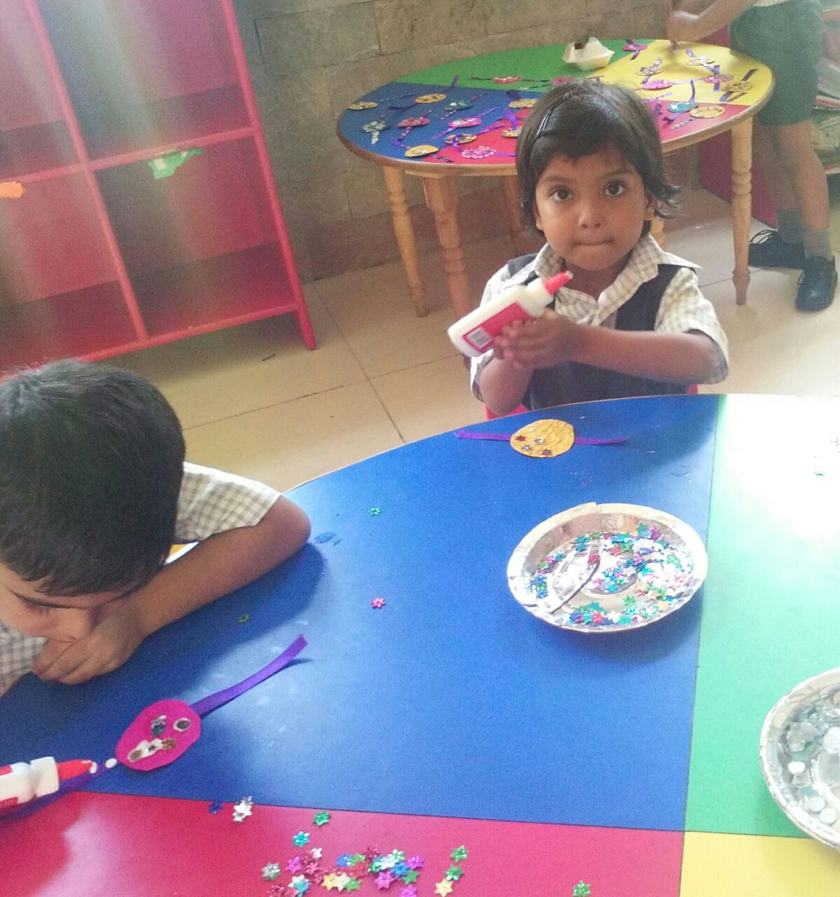Download Photo Rakhi Making Competition Kindergarten